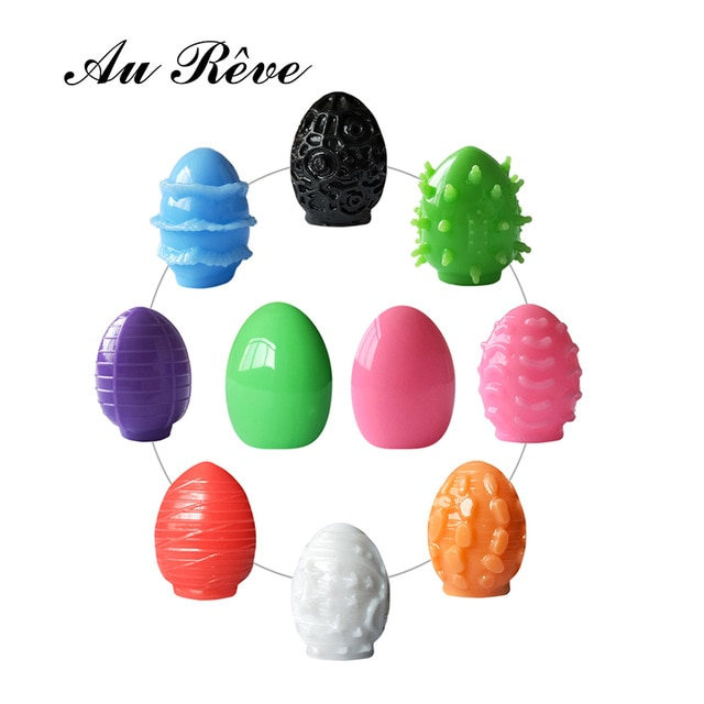 Горячая продажа одна часть Вагина киска мужской мастурбатор как яйцо карман киска искусственная вагина секс-игрушки для мужчин 8 цветов Au Reve