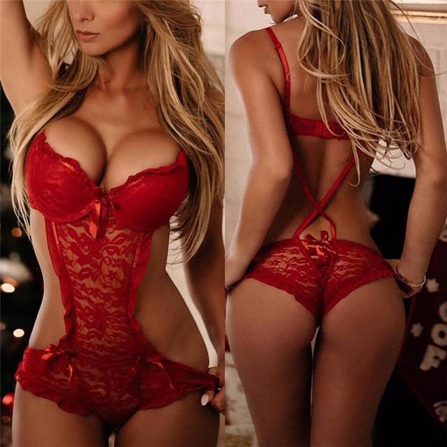 S/M/L/XL/XXL/XXXL сексуальные костюмы с кружевами ночные рубашки для девочек пижамы Babydolls красный TEDDIES сексуальное женское белье сексуальное нижнее бельё