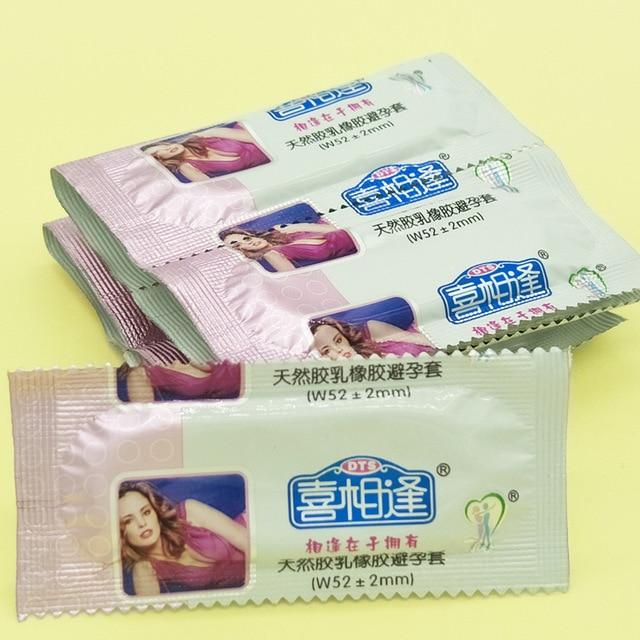 50 шт./лот фруктовый вкус презервативы для Для мужчин пенис тонкий презерватив с большой смазки секс товары безопасной контрацепции Секс-игрушки