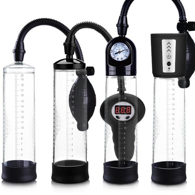 7 моделей мужской вакуумный насос для пениса Фаллус увеличитель для мужчин t Удлинительное устройство для пениса расширитель насосы и увеличители для мужчин B2-4-2
