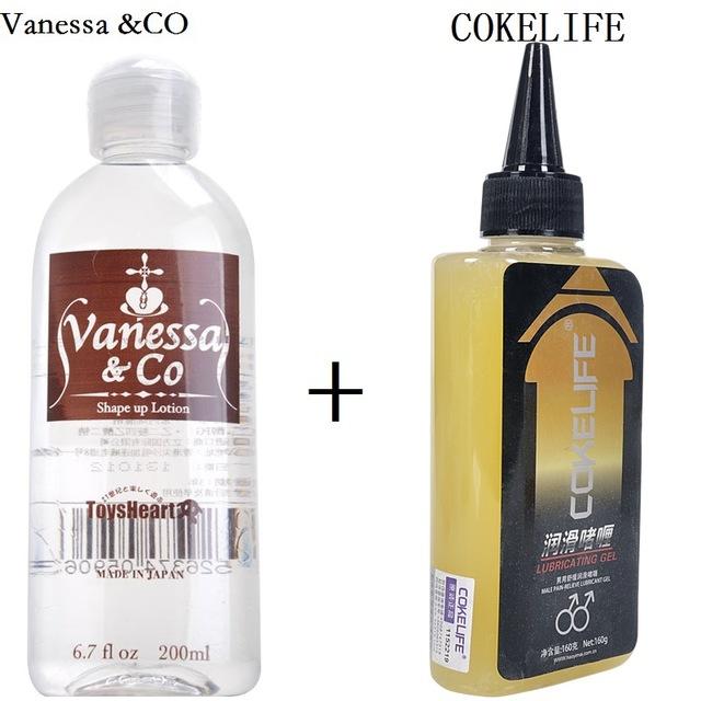 Vanessa & CO Japan Personal Water-Водорастворимая смазка вагинальный секс анальный анальгетический смазка Обезболивание анти-боль анальный секс масло