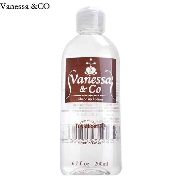 Vanessa & CO японский бренд 200 мл вода-Водорастворимая смазка личная смазка масло Интимная смазка Анальный Секс Смазка
