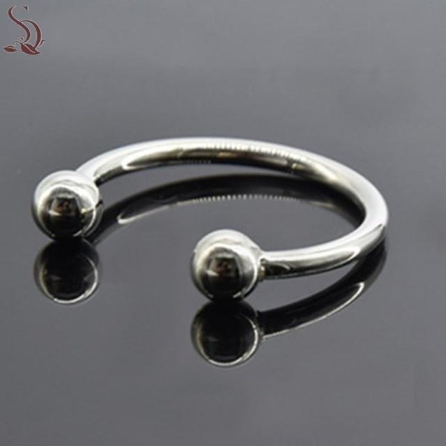 Горячие эротические нержавеющая сталь пенис металлический петух кольцо мм 30 мм недоношенной эякуляции игрушка для эрекции Mar09
