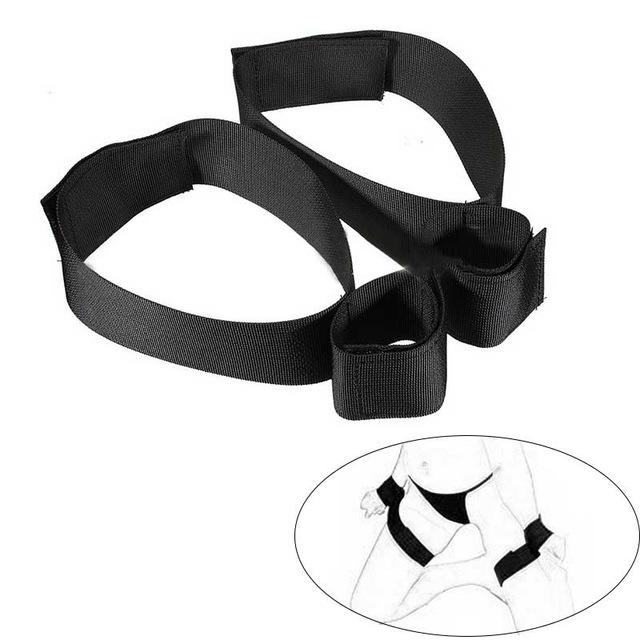 Для женщин Связывание Наручники Наручные лодыжки комплект наручников интимный контакт Регулируемая Сексуальная помощь ограничения комплект для пар