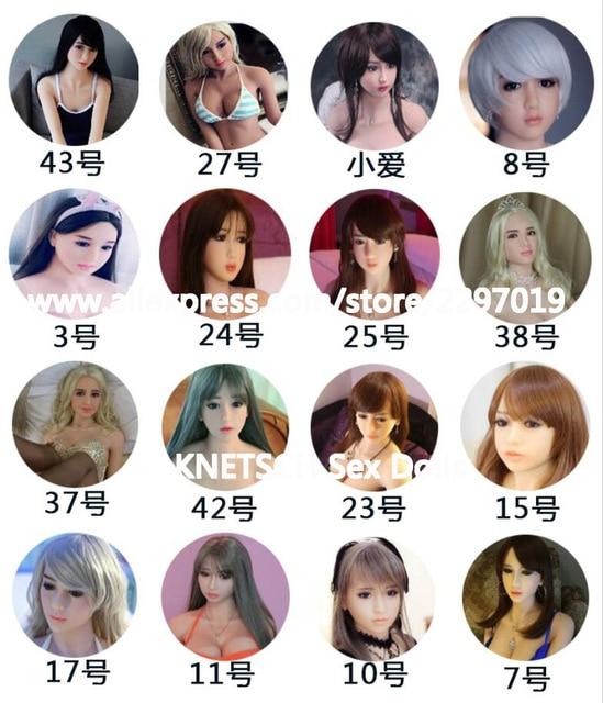 KNETSCH Новинка 2017 года одежда высшего качества кукла для орального секса головы японский реалистичные силиконовые секс куклы голова для