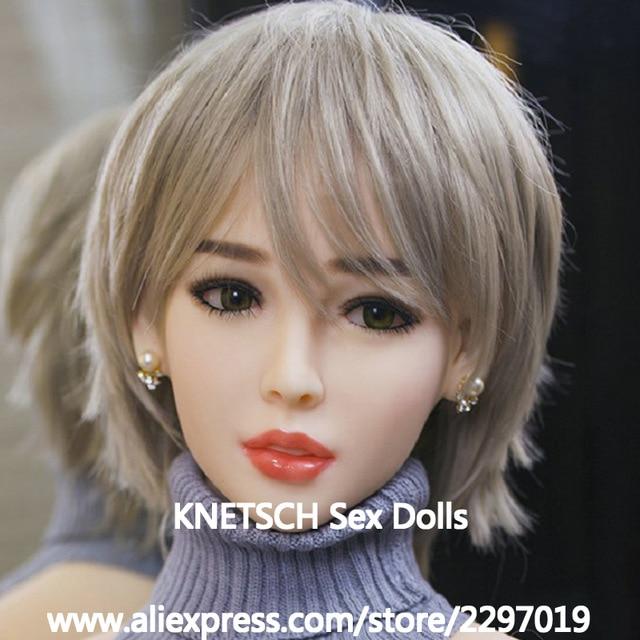 Knetsch секс голову куклы высота 135 см ~ 170 см настоящая любовь силиконовые куклы головок с устные Новый Секс-игрушки для Для мужчин реального Головы Куклы