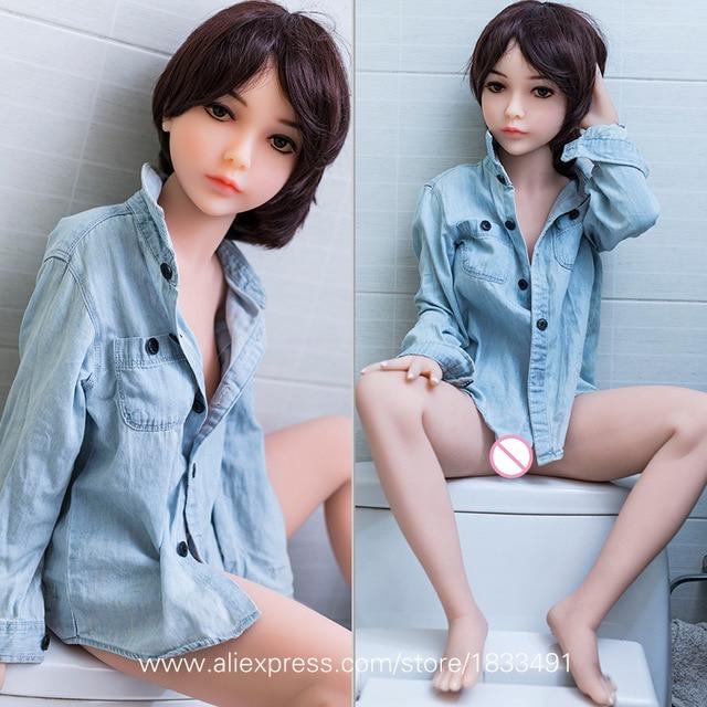 Полная Силиконовая секс-кукла реальный взрослый размер Реалистичная Вагина грудь Мужская мастурбация взрослые игрушки Маленькая грудь Tpe женский