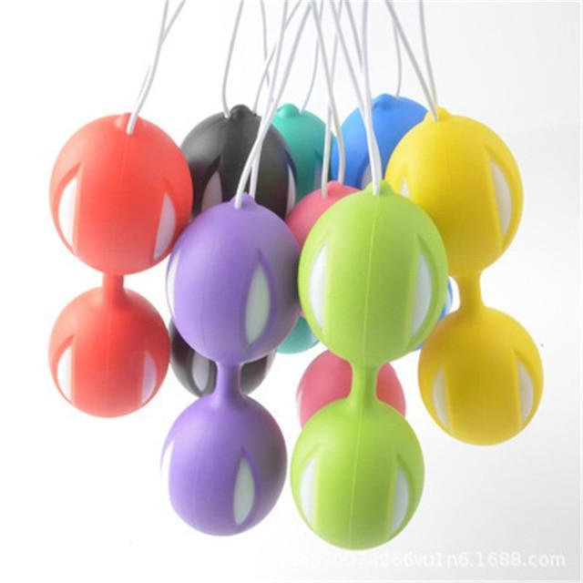 Безопасный силикон умный мяч вагинальные шарики шарик Бен-ва укрепление вагины тренажер вагинальный вагинальные шарики «geisha Balls» Интимные Игрушки для женщин