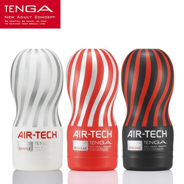 Япония оригинал Tenga Air-tech многоразовые вакуумные чаша для интима, мягкая Силиконовое влагалище настоящая киска сексуальный Карманный Мужской мастурбатор чашка секс игрушки