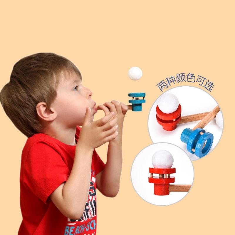 Забавный плавающий шар подвеска удар деревянная игрушка уличный Забавный спортивный креативный трубный баланс подвеска мяч детские игрушки для детей
