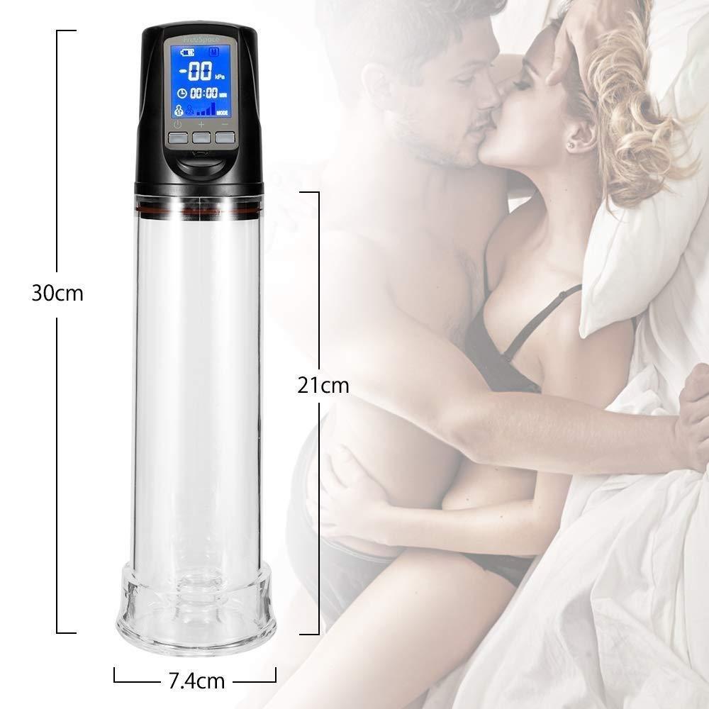 Автоматический Мужской Вибратор для увеличения пениса, электрический насос для пениса, для тренировки эрекции, для увеличения пениса, магазин секс игрушек