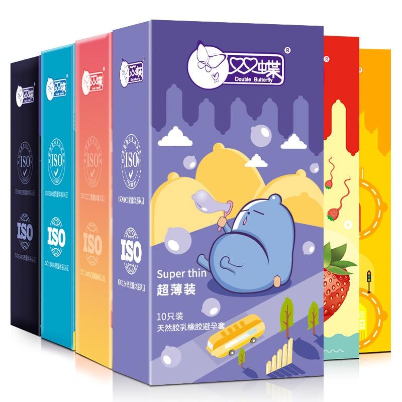 Презервативы мужские латексные ребристые 10 шт. в упаковке