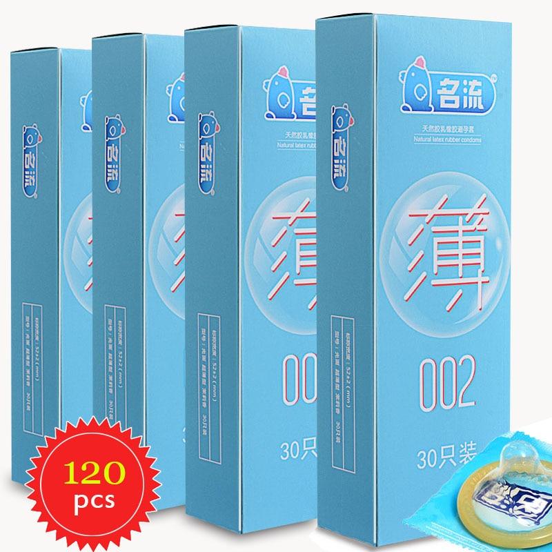 Ультратонкие презервативы со смазкой PERSONAG, 120 шт.