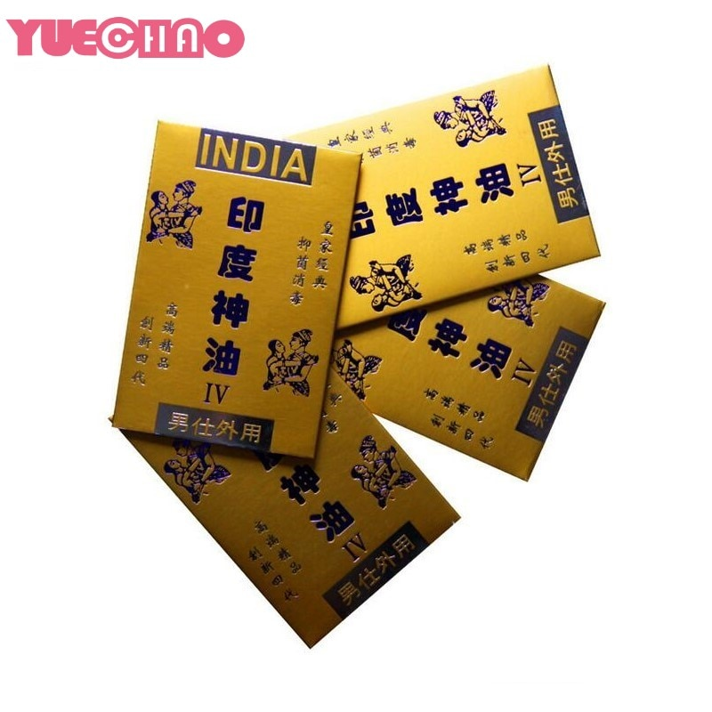 YUECHAO 1 шт. Индийский Бог масло салфетки Секс игрушки для мужчин недоношенные предотвратить продлить эякуляцию длительная задержка протрите пенис афродизиак